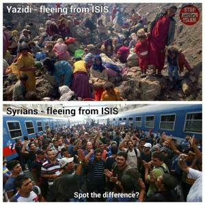 migrants refugees-fleeing-ISIS