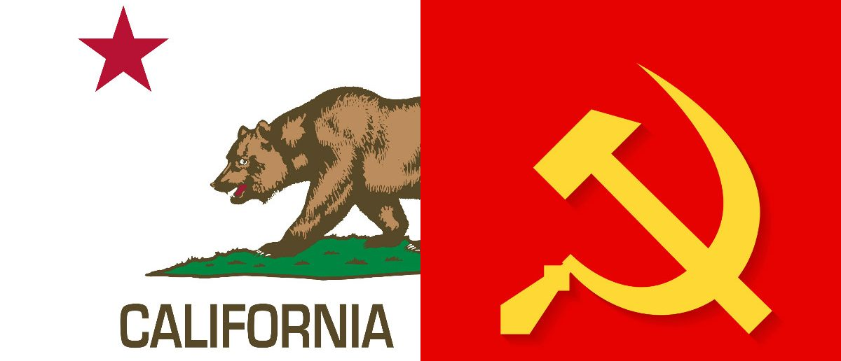 Two Americas and The Sovietization Of California